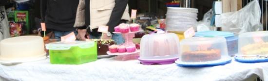 Kuchen-und Tortenbuffet